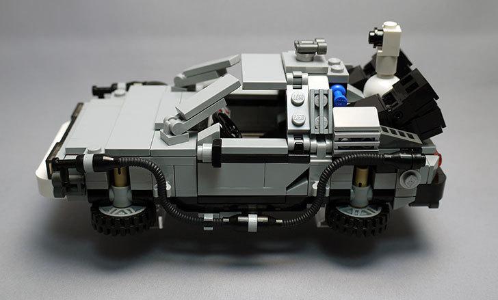 LEGO-21103-デロリアン・タイムマシンを作った2-2.jpg