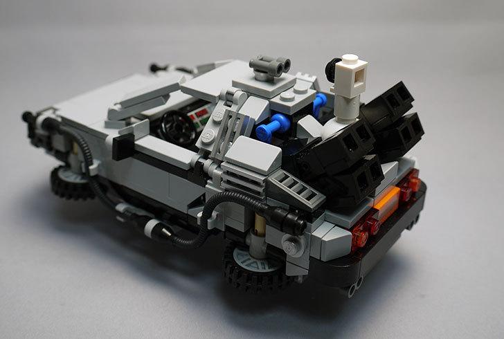 LEGO-21103-デロリアン・タイムマシンを作った2-3.jpg