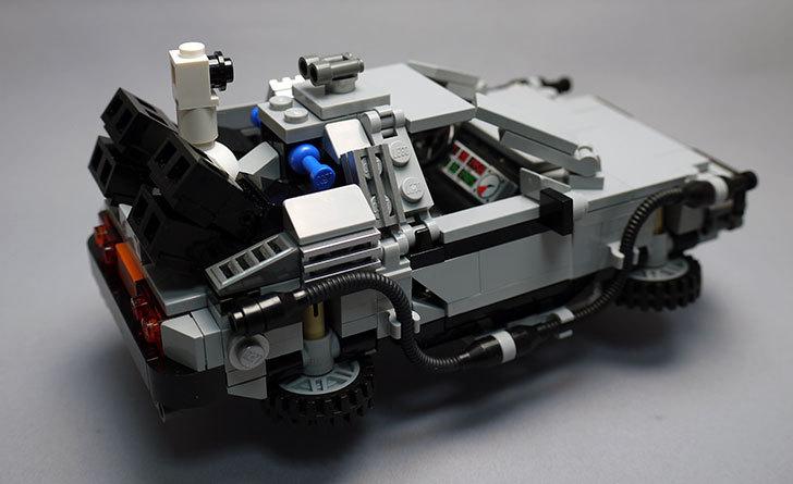 LEGO-21103-デロリアン・タイムマシンを作った2-5.jpg