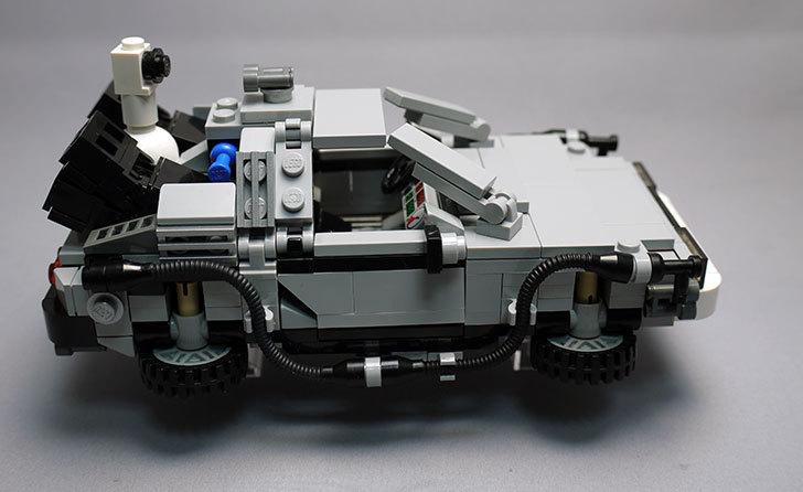LEGO-21103-デロリアン・タイムマシンを作った2-6.jpg