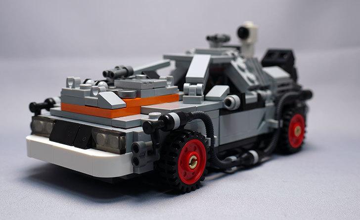 LEGO-21103-デロリアン・タイムマシンを作った3-1.jpg