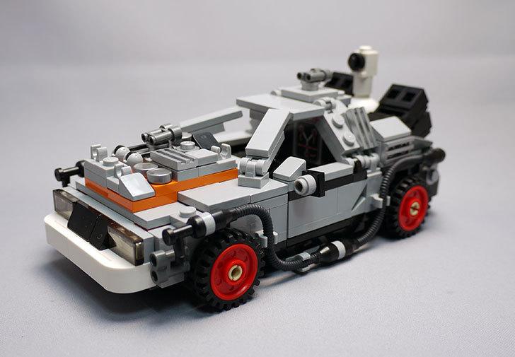 LEGO-21103-デロリアン・タイムマシンを作った3-10.jpg