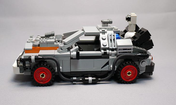 LEGO-21103-デロリアン・タイムマシンを作った3-11.jpg