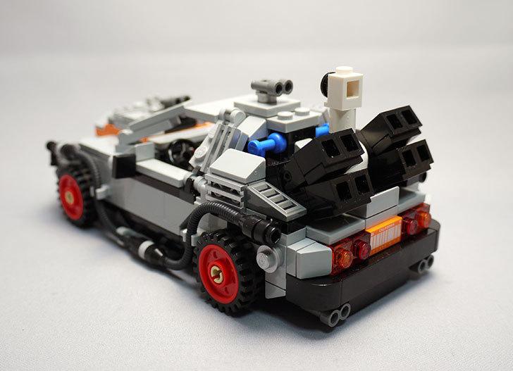 LEGO-21103-デロリアン・タイムマシンを作った3-12.jpg