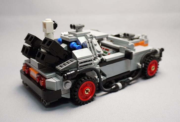 LEGO-21103-デロリアン・タイムマシンを作った3-14.jpg