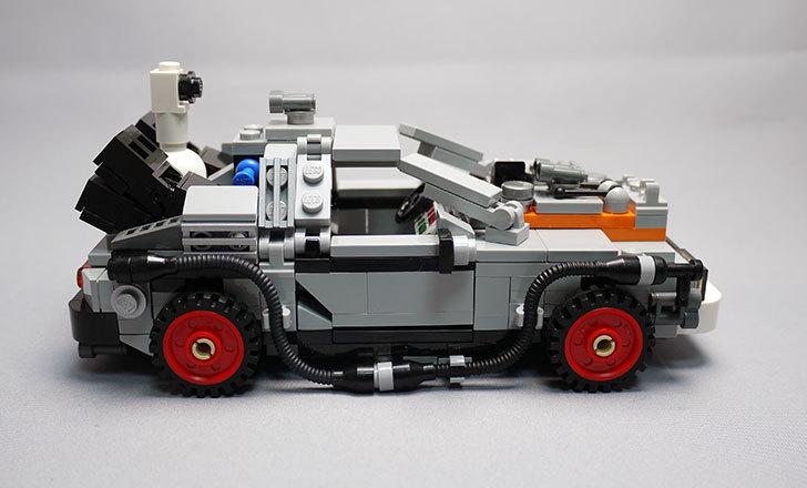 LEGO-21103-デロリアン・タイムマシンを作った3-15.jpg