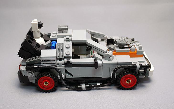 LEGO-21103-デロリアン・タイムマシンを作った3-23.jpg