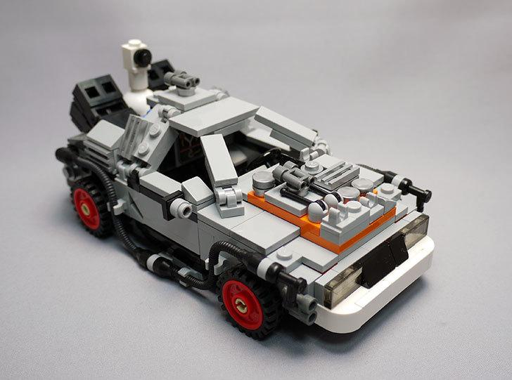 LEGO-21103-デロリアン・タイムマシンを作った3-24.jpg