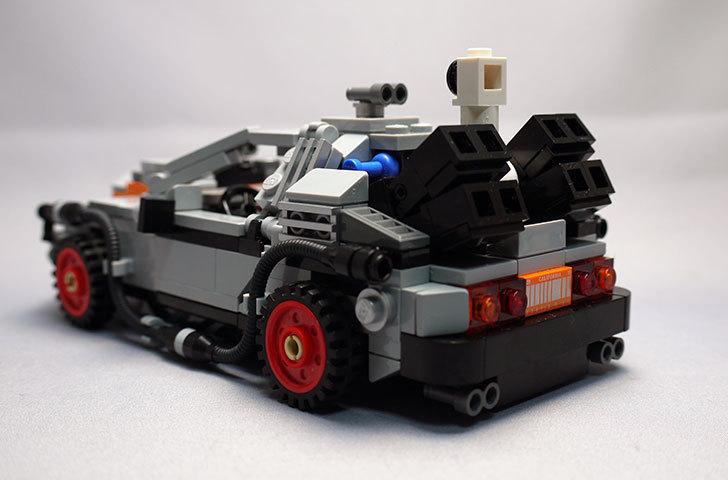 LEGO-21103-デロリアン・タイムマシンを作った3-3.jpg