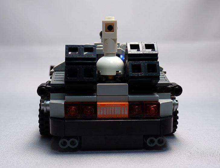 LEGO-21103-デロリアン・タイムマシンを作った3-4.jpg