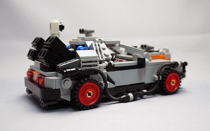 LEGO-21103-デロリアン・タイムマシンを作った3-5.jpg