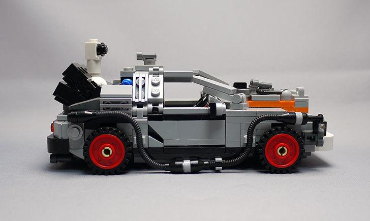 LEGO-21103-デロリアン・タイムマシンを作った3-6.jpg