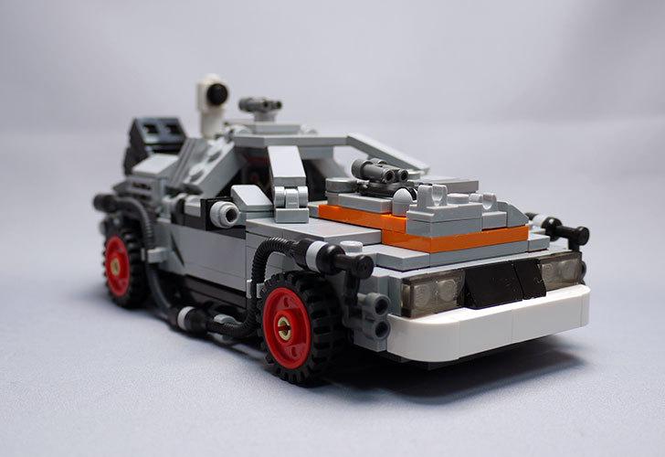 LEGO-21103-デロリアン・タイムマシンを作った3-7.jpg
