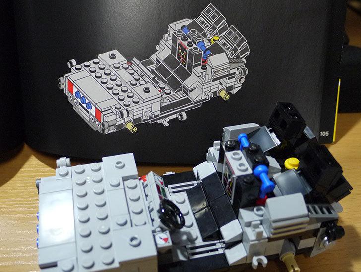 LEGO-21103-デロリアン・タイムマシンを作った31.jpg