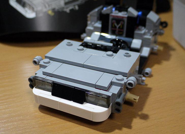 LEGO-21103-デロリアン・タイムマシンを作った35.jpg