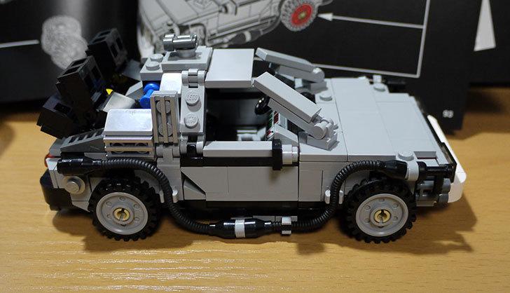 LEGO-21103-デロリアン・タイムマシンを作った45.jpg