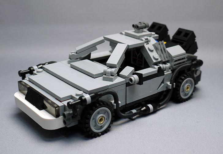 LEGO-21103-デロリアン・タイムマシンを作った46.jpg