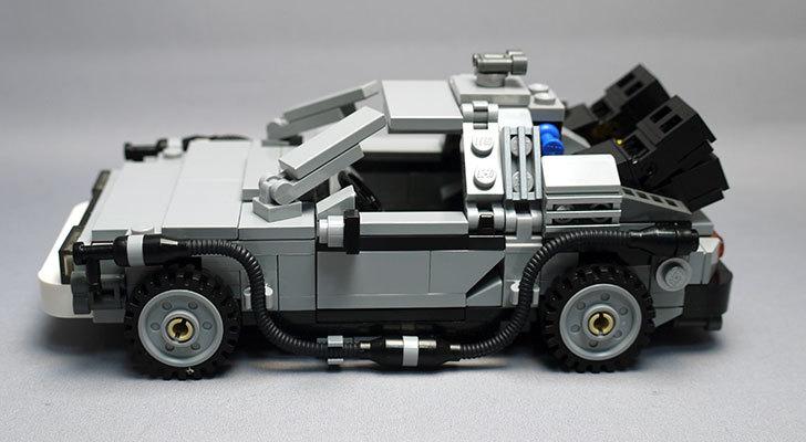 LEGO-21103-デロリアン・タイムマシンを作った47.jpg