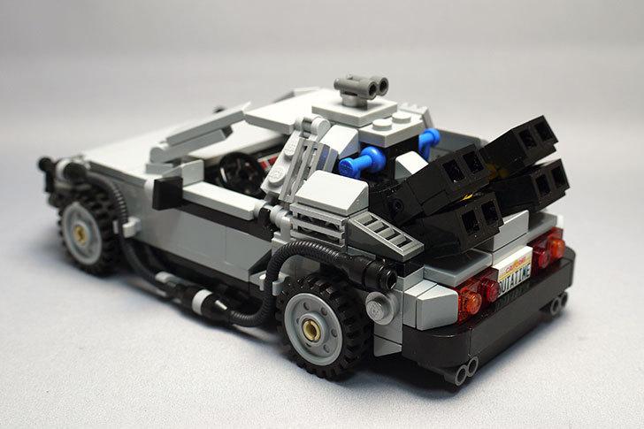 LEGO-21103-デロリアン・タイムマシンを作った48.jpg