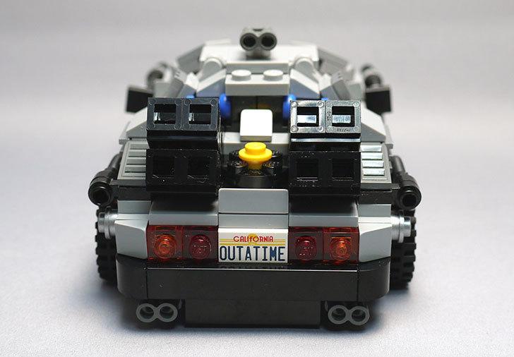 LEGO-21103-デロリアン・タイムマシンを作った49.jpg