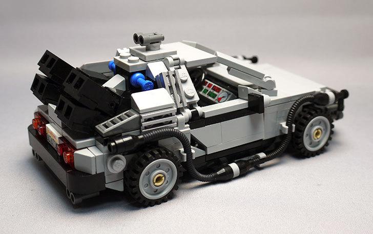 LEGO-21103-デロリアン・タイムマシンを作った50.jpg