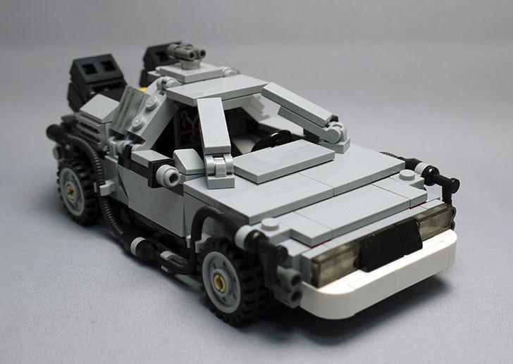 LEGO-21103-デロリアン・タイムマシンを作った51.jpg