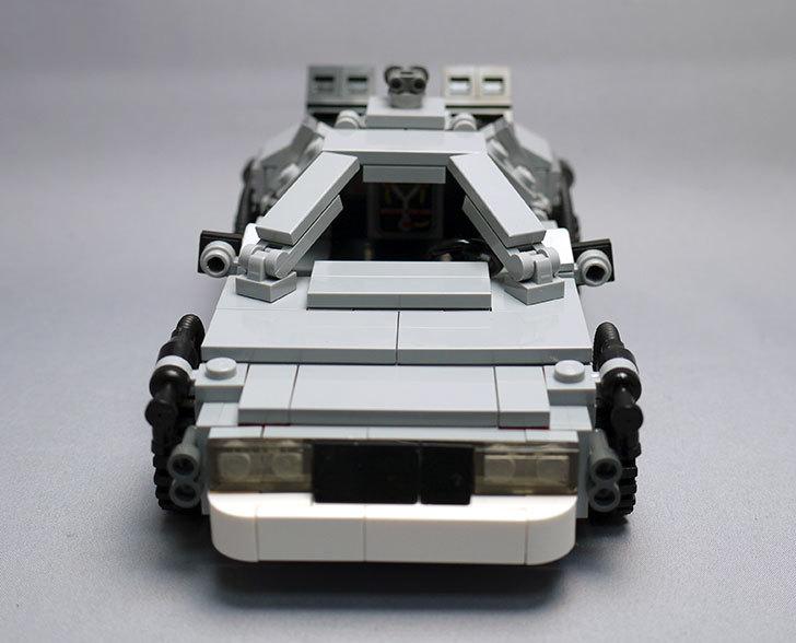 LEGO-21103-デロリアン・タイムマシンを作った52.jpg