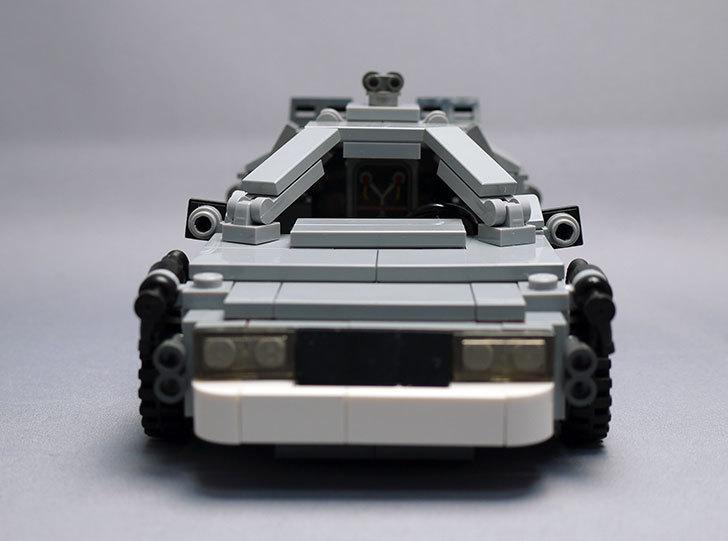LEGO-21103-デロリアン・タイムマシンを作った53.jpg