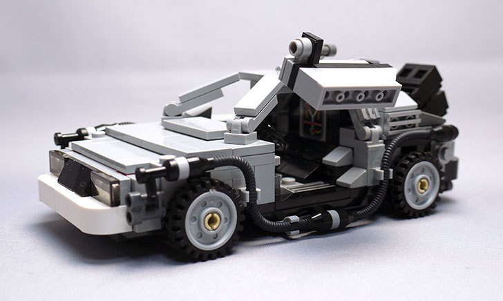 LEGO-21103-デロリアン・タイムマシンを作った54.jpg