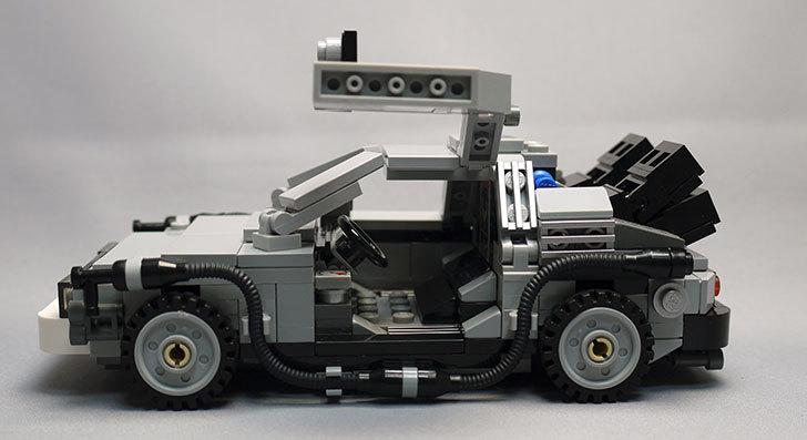 LEGO-21103-デロリアン・タイムマシンを作った55.jpg