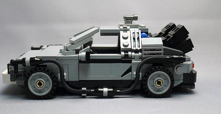 LEGO-21103-デロリアン・タイムマシンを作った56.jpg