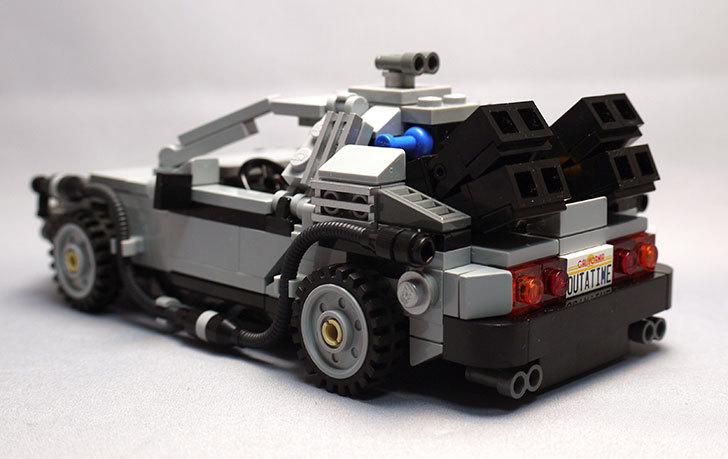 LEGO-21103-デロリアン・タイムマシンを作った57.jpg