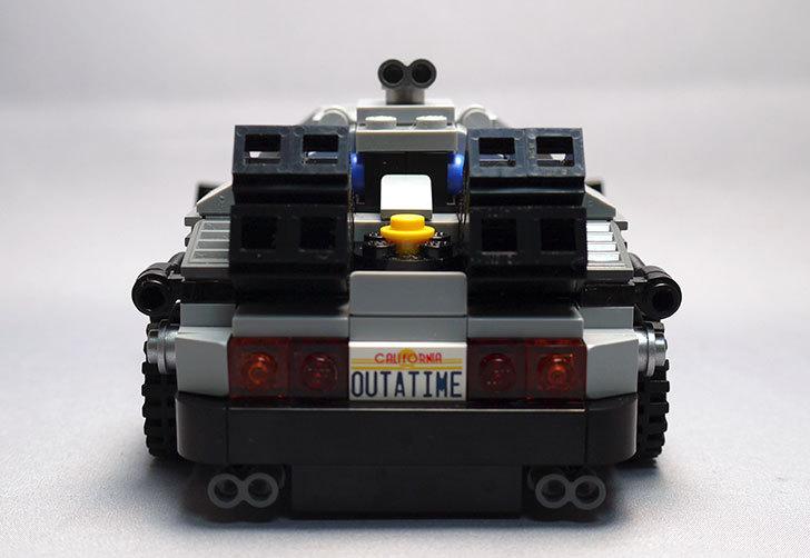 LEGO-21103-デロリアン・タイムマシンを作った58.jpg