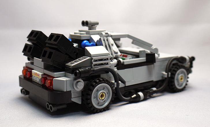 LEGO-21103-デロリアン・タイムマシンを作った59.jpg
