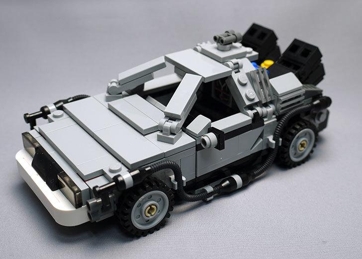 LEGO-21103-デロリアン・タイムマシンを作った62.jpg