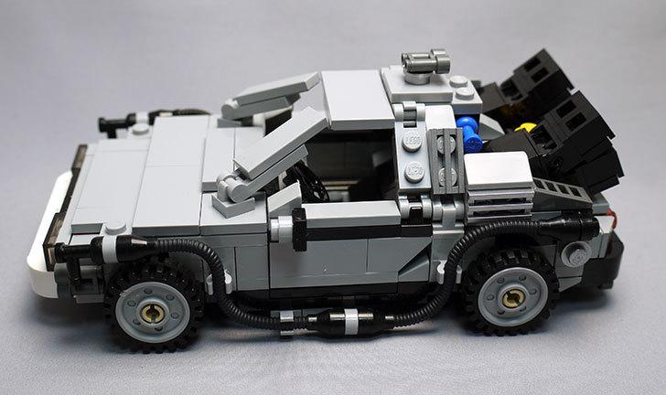 LEGO-21103-デロリアン・タイムマシンを作った63.jpg