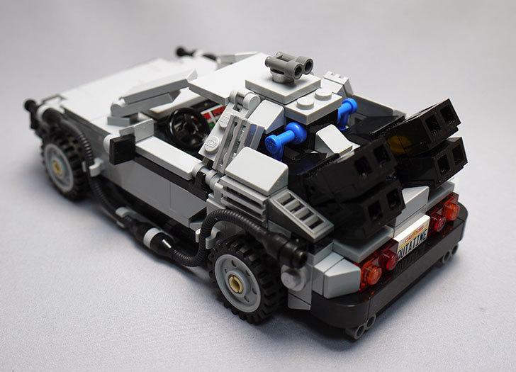 LEGO-21103-デロリアン・タイムマシンを作った64.jpg