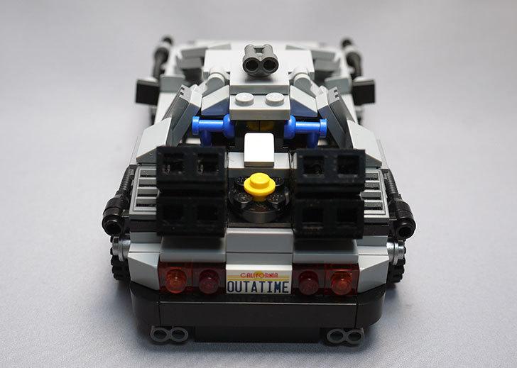 LEGO-21103-デロリアン・タイムマシンを作った65.jpg