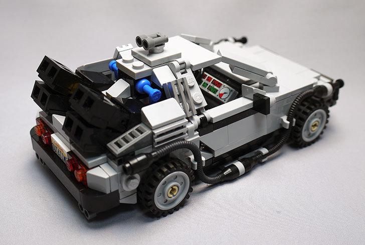 LEGO-21103-デロリアン・タイムマシンを作った66.jpg