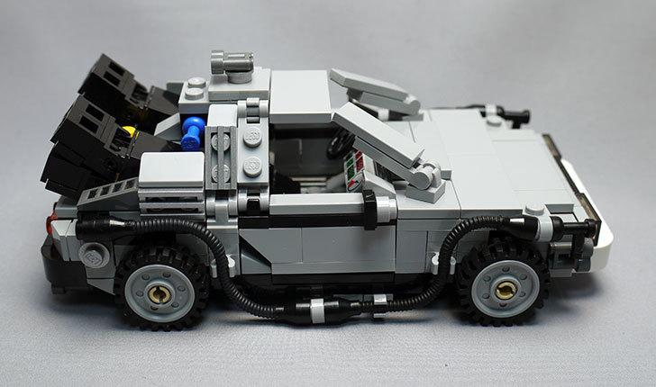 LEGO-21103-デロリアン・タイムマシンを作った67.jpg