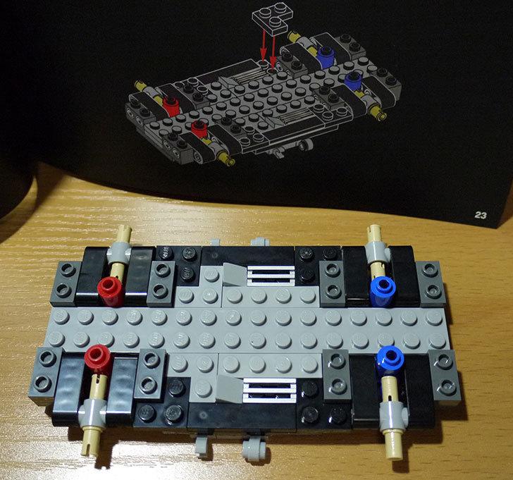 LEGO-21103-デロリアン・タイムマシンを作った9.jpg