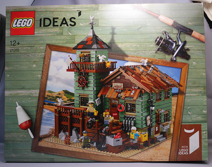 LEGO-21310-つり具屋が届いた。17,305円でポチったやつ1.jpg