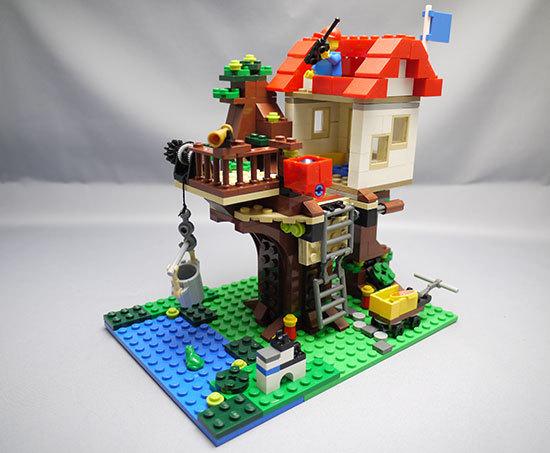 LEGO-31010-ツリーハウスを作った1.jpg