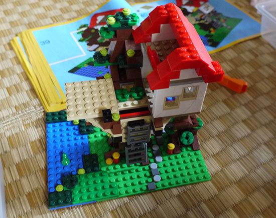 LEGO-31010-ツリーハウスを作った11.jpg