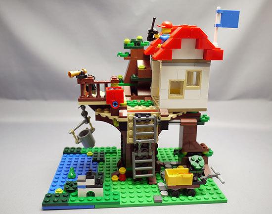 LEGO-31010-ツリーハウスを作った12.jpg