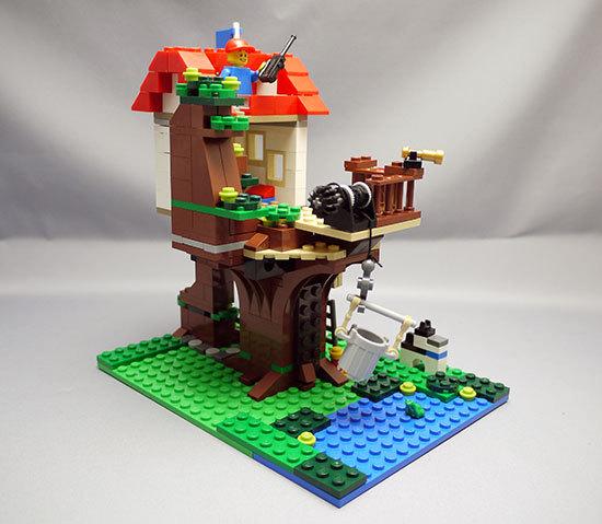 LEGO-31010-ツリーハウスを作った14.jpg