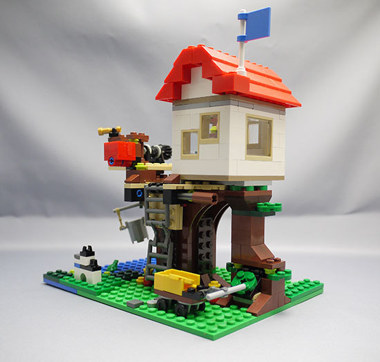 LEGO-31010-ツリーハウスを作った21.jpg