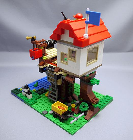 LEGO-31010-ツリーハウスを作った22.jpg