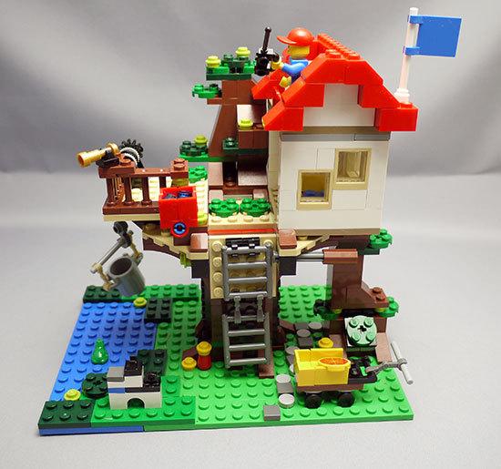 LEGO-31010-ツリーハウスを作った23.jpg