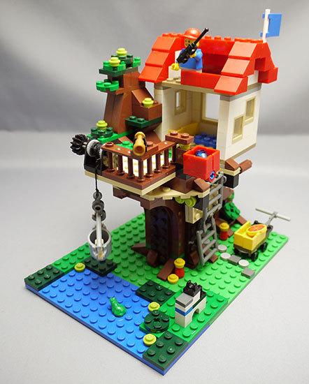 LEGO-31010-ツリーハウスを作った24.jpg